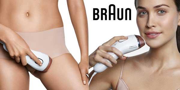 Depiladora de luz pulsada Braun Silk-expert 5 IPL BD 5008 + cepillo de limpieza facial chollazo en Amazon