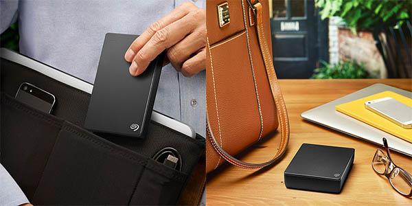 Disco portátil Seagate Backup Plus Slim de 5 TB barato