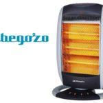 Estufa eléctrica halógena Orbegozo BP 5005 A de 1200 W y 3 niveles calor chollo en eBay