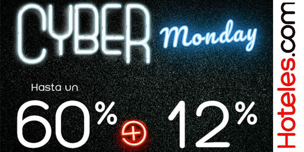 Hoteles.com cyber monday
