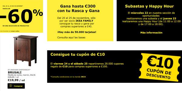 Ikea Badalona y Sabadell Black Friday 2017
