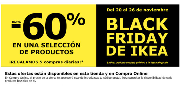 Ikea Black Friday 2017 Madrid
