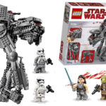 Kit LEGO Star Wars - First Order Heavy Assault Walker al mejor precio