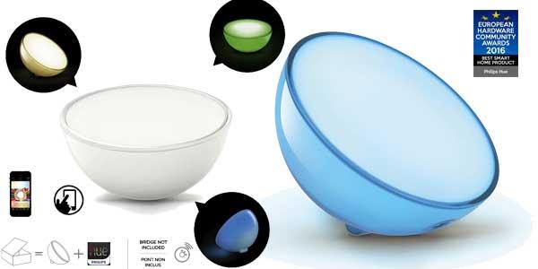 Lámpara LED Philips Hue Go compatible con Apple Homekit y Google Home chollo en Amazon