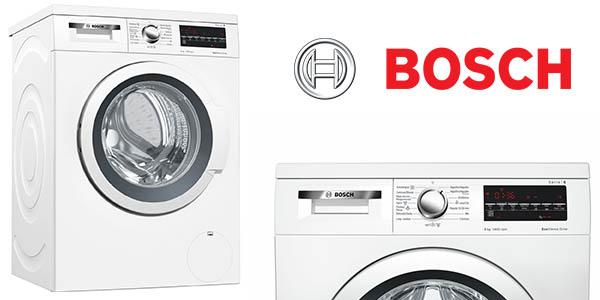 lavadora Bosch WUQ28478ES de 8Kg carga frontal barata