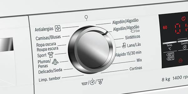 lavadora Bosch WUQ28478ES 8kg oferta Black Friday El Corte Inglés