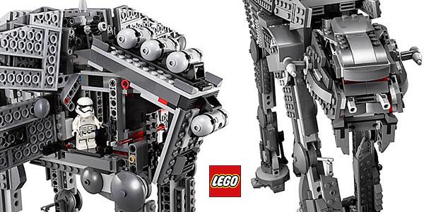 LEGO Star Wars - First Order Heavy Assault Walker 75189 con 5 figuras barato