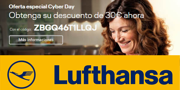 Lufthansa cyber monday 2018
