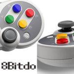 Mando 8Bitdo SF30 PRO Bluetooth para Nintendo Switch y PC