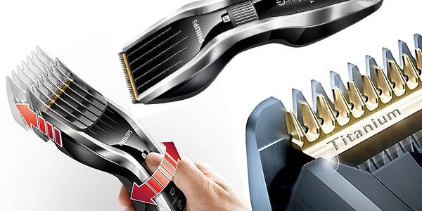 máquina cortapelo con cuchillas de titanio Philips HC5450/80