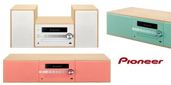 Minicadena Pioneer X-CM56-R con Bluetooth al mejor precio en Amazon