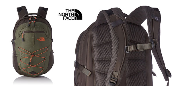 Mochila The North Face Borealis verde barata en Amazon