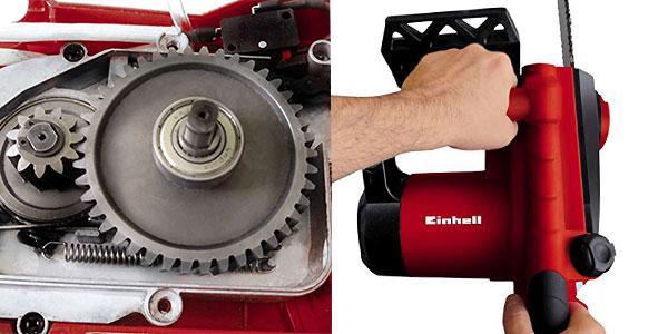 Motosierra eléctrica Einhell GE-EC 2240 de 7800 rpm y 2200W rebajada