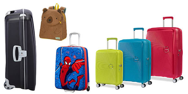 ofertas en equipaje American Tourister Samsonite Cyber Monday 2018