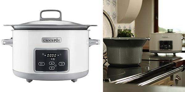 Olla de cocción lenta Crock-Pot Duraceramic CSc026X de 5 litros barata