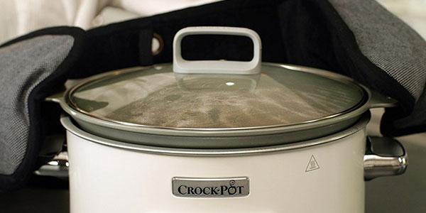 Olla de cocción lenta Crock-Pot Duraceramic CSc026X de 5 litros