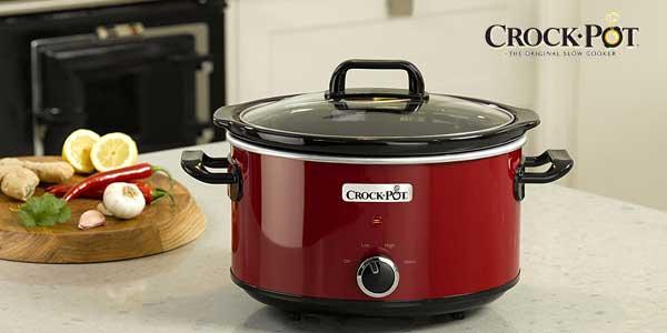 Olla de cocción lenta Crock-Pot SCV400RD de 3,5 L chollazo en Amazon