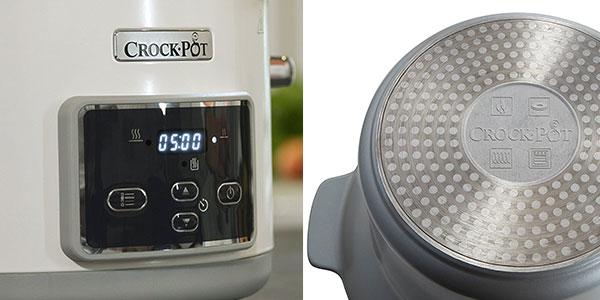 Olla de cocción lenta Crock-Pot Duraceramic CSc026X de 5 litros al mejor precio