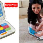 Ordenador portátil interactivo Mi primer ordenador Fisher-Price de Mattel para bebés barato