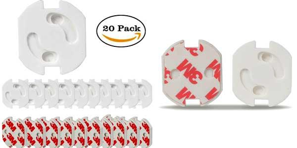 Chollo flash pack de 20 protectores de enchufes jeswell - Precio de enchufes ...