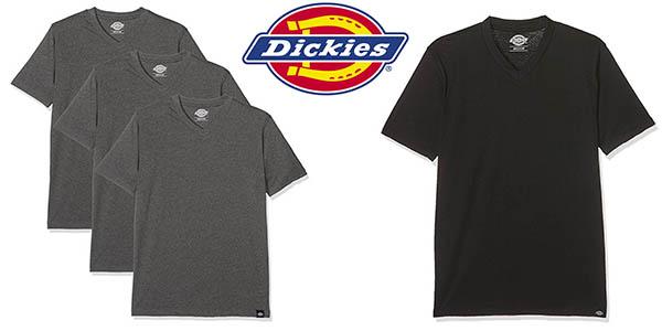pack 3 camisetas básicas Dickies para hombre en algodón y felpa baratas