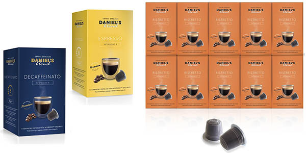 pack cápsulas café Daniels Blend compatibles nespresso oferta