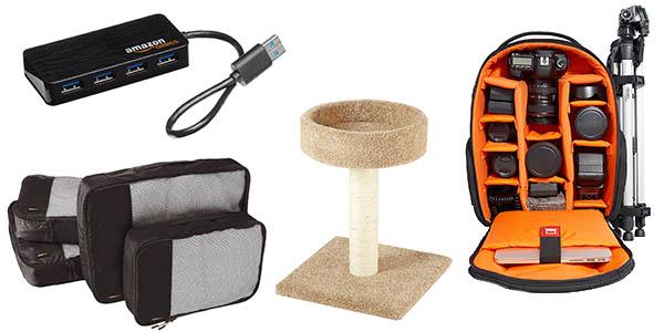 promoción AmazonBasics productos de uso diario baratos