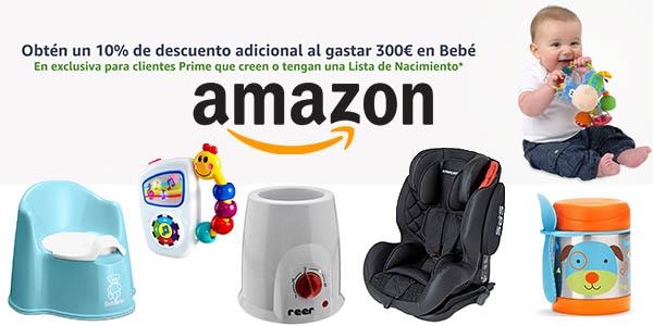LISTA BEBE AMAZON DESCUENTO