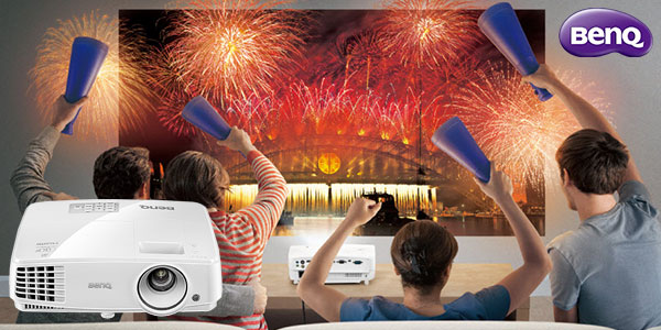 Proyector BenQ TH530 Full HD Home Cinema de 3200 lumens rebajado