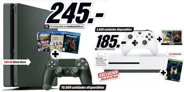 Pack PS4 en el Black Friday de Media Markt