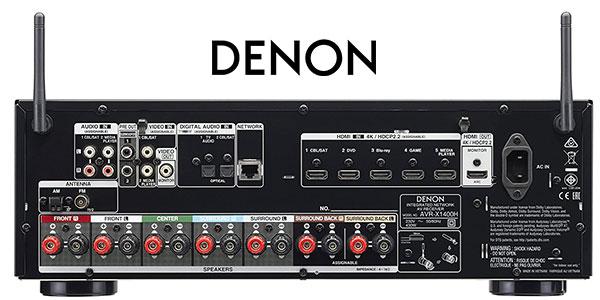 Receptor AV Denon AVR-X1400H Dolby multiroom al mejor precio