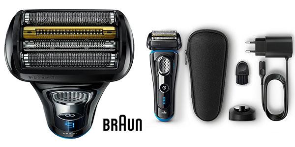 Recortadora de precisión Braun Series 9 9240s recargable inalámbrica con base cargadora rebajada