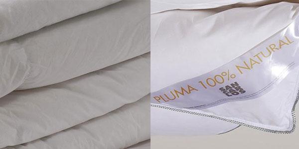Relleno nórdico Sancarlos Platinum de plumas para cama de 240 x 220 cm