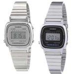 Reloj digital Casio Collection LA670WEA para mujer con correa de acero inoxidable chollo en Amazon