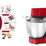 Robot amasador Moulinex Masterchef Gourmet Red Ruby 900 W barato en Amazon España