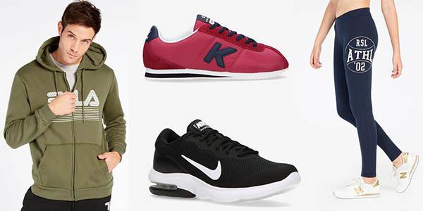 ropa y calzado deportivo rebajado de grandes marcas en Sprinter