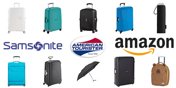 Samsonite American Tourister maletas rebajadas para el Cyber Monday Amazon 2018