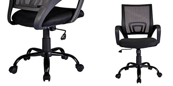silla giratoria con ruedas para escritorio cómoda y barata