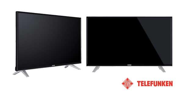 "Smart TV Telefunken AURUM43UHD de 4K con pantalla de 43"" barato en eBay"