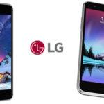 Smartphone LG K4 2017 barato