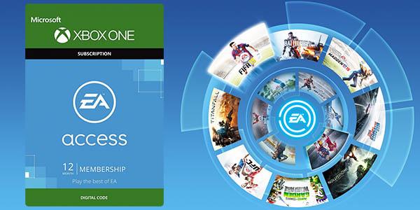 12 meses de suscripción a EA Access para Xbox One