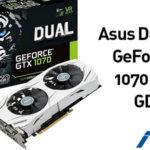 Tarjeta gráfica Asus Dual NVIDIA GeForce GTX 1070 OC 8GB GDDR5