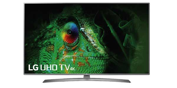 "Smart TV LG 55UJ670V UHD 4K HDR de 55"" chollo en Amazon"