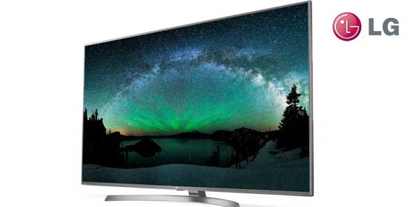 "Smart TV LG 55UJ670V UHD 4K HDR de 55"" chollazo en Amazon"