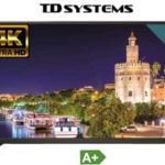 "Televisor LED TD Systems K55DLM7U UHD 4K de 55"" chollo en Amazon"
