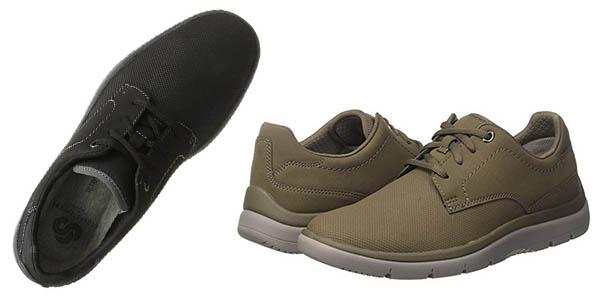 zapatos Clarks de estilo casual transpirables para hombre chollo