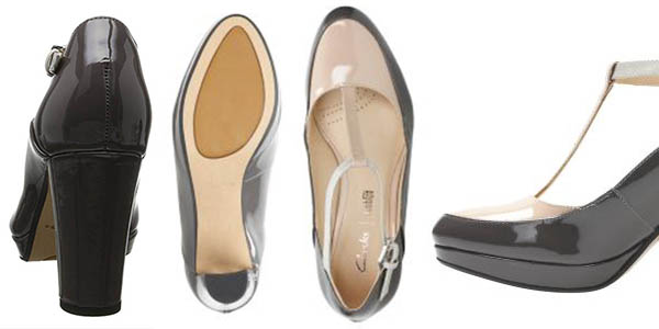 zapatos de vestir Clarks Kendra Keisy charol chollo