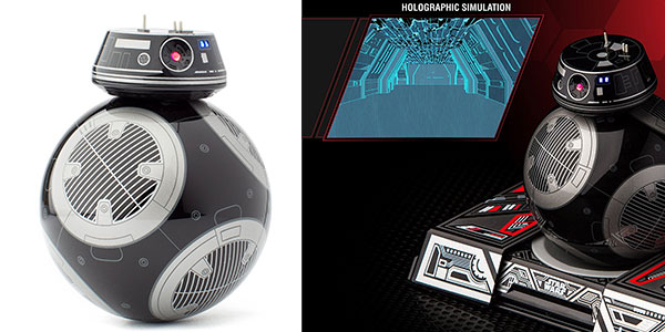 Androide BB-9E (Star Wars) teledirigido de Sphero barato