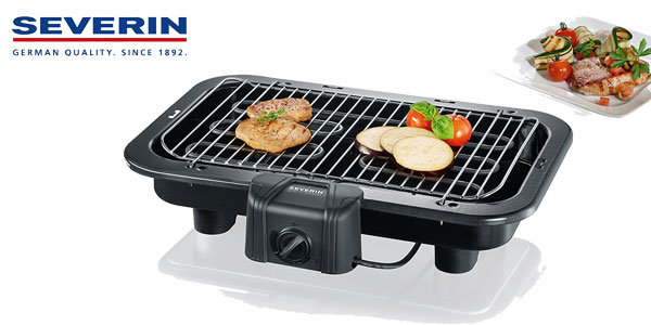 Barbacoa Severin 2790 de 2500 W (25% más de superficie) barata en Amazon España