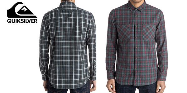 Camisa de manga larga Quiksilver para hombre barata